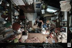 Cramped Apartments in Hong Kong Shot From Directly Abov - Imgur