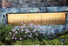 Eating here some day---named best restaurant in the WORLD!!!!   French Laundry Restaurant Napa, CA...You will need to make reservations way in advance.