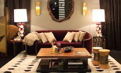 Sofá Wales Art Decó de lujo en Portobellodeluxe.com. Tu tienda de muebles de lujo