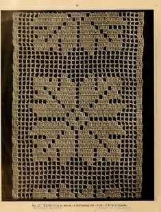 image of page 24 Crochet Blocks, Crochet Borders, Crochet Motif, Crochet Doilies, Crochet Lace, Crochet Stitches, Crochet Edgings, Diy Crafts Crochet, Crochet Geek