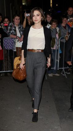 Keira Knightley, Londres, 7 abril 2011