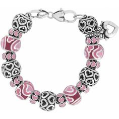 """Brighton """"from the heart"""" charm bracelet..I love all the different little heart designs on this bracelet!"""