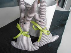 Wiosenne króliki handmade