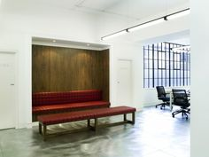 Bespoke Fat Biscuit sofa and bench by www.studiomaclean.com