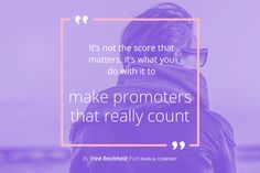 When using the Net Promoter System, the focus is to make your company aware of what your customers and stakeholders experience.