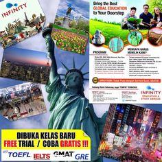 Dibuka kelas baru #TOEFL, #IELTS, #GMAT, #GRE. Trial GRATIS!!!http://www.infinitystudy.blogspot.com (031) 81699911 #Surabaya  @e100ss