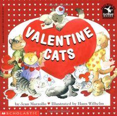 Valentine Cats (Read with Me Cartwheel Books (Scholastic Paperback)) by Jean Marzollo http://www.amazon.com/dp/0590475967/ref=cm_sw_r_pi_dp_ultuub0M6F2D4