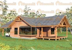 Rest House, House In The Woods, Timber House, Wooden House, Village House Design, House On Stilts, Bamboo House, Cabins And Cottages, Design Case