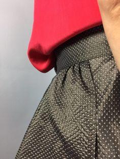 Kenzo Silk Vintage Polka Dot Skirt. 120$ #atributevintagestore #kenzo #polkadot #print #etsyseller