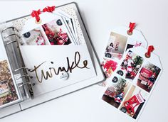 Love this DD album by Barbara Picinic, The Picinic Basket: December Daily 2016