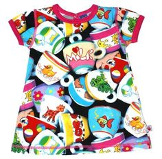 Love this one ♡ Molo Kids Cup Print (Chanel) from the SS08 collection #Baby #girls #dresses
