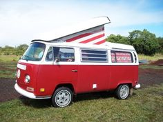 Hawaii VW Camper Rentals, Big Island - all the linens, kitchenware, beach necessities & more included. (You provide clothing & food; they do all the rest.)