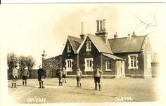 A typical Victorian village school in Bulphan, Thurrock Essex. Taken in 1890's.