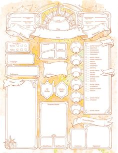 Rpg Character Sheet, Character Sheet Template, Character Concept, Character Design, Dungeons And Dragons Characters, D&d Dungeons And Dragons, Dnd Characters, Simple Character, Character Creation