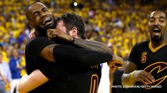 LeBron James....I remember this....history was made
