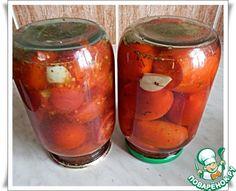 Маринованные помидоры в микроволновке ингредиенты