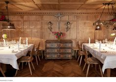 The venue can be hired exclusively for a private family celebration, a product launch or for a corporate incentive trip. Hotel Maiensee event spaces are. Chalet Austria, Chalet Design, Ski Lift, Cabin Plans, Cabin Fever, Skiing, Table Settings, Relax, Ski Resorts
