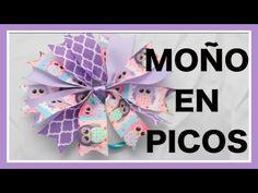 Como hacer POMPON DE LISTON Paso a Paso POMPOM PIGTAILS Tutorial DIY How To PAP - YouTube