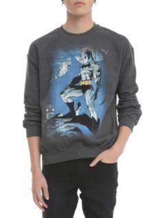 952d51b316 DC Comics Batman Jim Lee Crew Pullover