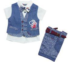 3027 Wholesale leaf embroidered denim gilet with shirt & short set for boy children clothes month). Wholesale Baby Clothes, Short Set, Children Clothes, Baby Dress, Kids Outfits, Amp, Denim, Boys, Jackets