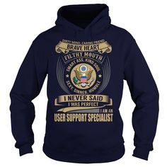 User Support Specialist We Do Precision Guess Work Knowledge T-Shirts, Hoodies. BUY IT NOW ==► https://www.sunfrog.com/Jobs/User-Support-Specialist--Job-Title-102547536-Navy-Blue-Hoodie.html?id=41382