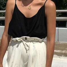 Vintage lightweight black camisole. Size xs-l. $28 + shipping. SOLD