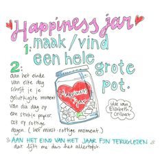 pot vol gelukkies Happy Jar, New Years Activities, Dutch Language, Leader In Me, How To Get Better, Yoga For Kids, Pen And Paper, Family Traditions, Jar Crafts