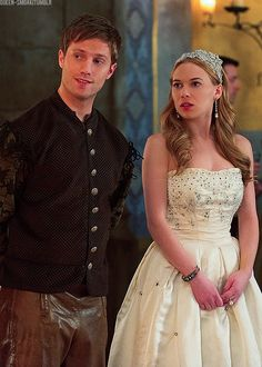 #Greith from Reign, Kitchen boy Leith and Lady Greer