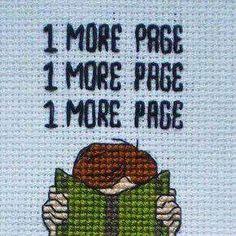 ponto cruz - só mais uma página...
