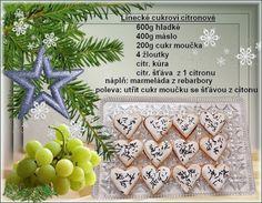 Linecké cukroví - citronové