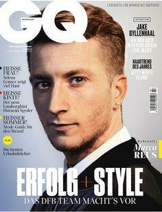 Marco Reus/GQ magazine cover