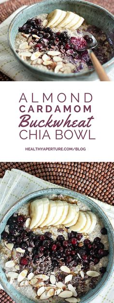 This hearty buckwheat and chia breakfast bowl recipe provides everything you need to fuel your morning!