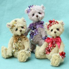 pipkins miniature bears, artist bear