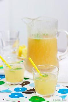 Helppo inkiväärijuoma //  Easy recipe for Ginger Beer