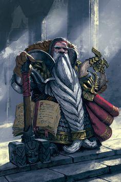 Dwarf cleric, inquisitor