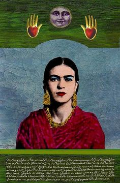 Kahlo had a volatile marriage with the famous Mexican artist Diego Rivera. Frida E Diego, Frida Kahlo Diego Rivera, Frida Art, Mexican Artists, Mexican Folk Art, Portraits, Love Art, Les Oeuvres, Statues