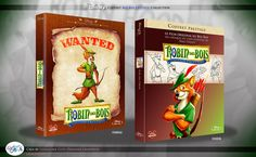 Concept de collection Blu Ray prestige Disney avec fourreau et Digibook : Robin des Bois ( Robin Hood ) Disney Blu Ray, Animation Disney, Prestige, Collection, Robin Hoods, Sheath Dress, Casket