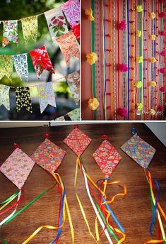 30 Ideas you can do for the June party & House decoration Diy Birthday Decorations, Xmas Decorations, Carnival Crafts, Do It Yourself Decorating, Rooftop Party, Valentine Crafts For Kids, Diy Home Decor Bedroom, Festival Party, Diy And Crafts