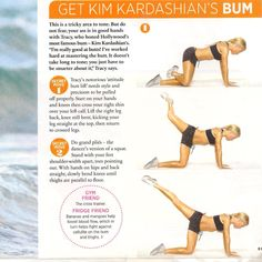 Get a toned Kardashian Booty! This has been part of my workout! I didn't know Kim did it. Went from no butt to a wow...can't wait for a WOW butt!