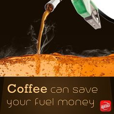 A cup of coffee not only kick-starts your day, but also your car. According to the researchers from the Centre for Sustainable Chemical Technologies at University of Bath, waste coffee grinds could be turned into a sustainable fuel to power vehicles. Soon, you can fuel your car with ground coffee.  #drink #coffee #day #grinds #fuel