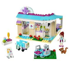 Cheap pet hospital, Buy Quality compatible with lego directly from China building blocks set Suppliers: Bela 10537 Friends pet hospital vet Clinic Building Blocks Sets Diy Bricks Educational toys 41085 Compatible with Lego Best Gift Model Building Kits, Building Blocks Toys, Hospital Vet, Legos, Toys For Girls, Kids Toys, Baby Toys, Lego Friends Sets, Friends Series