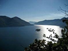 View over the Lago Maggiore