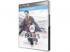 FIFA 14 para PS3 - EA De R$ 199,90 > Por R$ 47,90 em até 2x de R$ 23,95 sem juros no cartão de crédito. Entrega em todo Brasil e é feita pela nossa logística do Magazine Luiza. e nas Compras acima de R$ 99 reais o Frete é Grátis