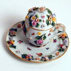 Meissen Raised Flora
