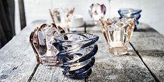 Holmegaard Reflections - delikatnie kolorowe świeczniki