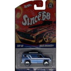 Hot Wheels Since 68 Top 40 Baja Breaker Die-Cast Vehicle | ToyZoo.com