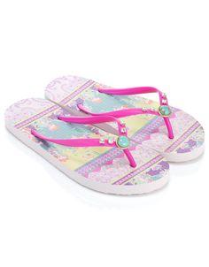 Indian Summer Flip Flops | Multi | Accessorize