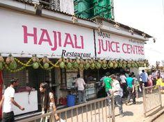#HajiAli juice centre in #Worli, #Mumbai
