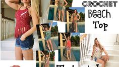 Boho Crochet Beach  top Tutorial