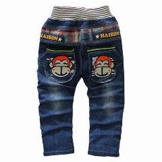 [ 20% OFF ] 2016 Spring Autumn Boys Cotton Cartoon Jeans,cool Boy Pants, Children's Clothing, Child Denim Trousers 1-4 Years